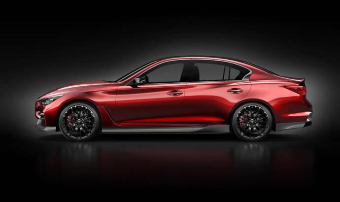 Infiniti Q50 Eau Rouge Concept - second image reveals the profile