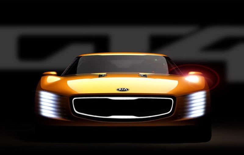 Kia GT4 Stinger Concept set for Detroit debut