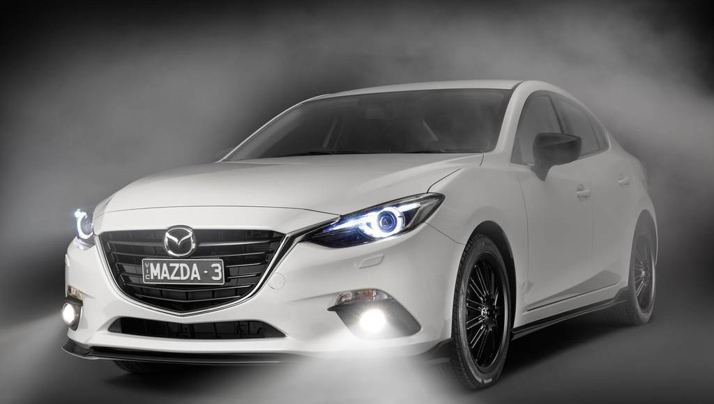 Mazda3 Kuroi sports pack for Australia