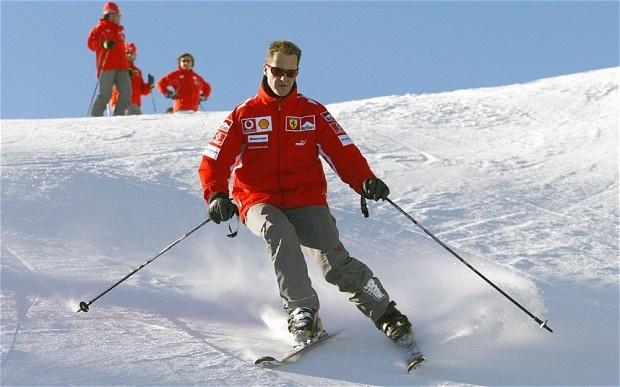 Michael Schumacher is getting better