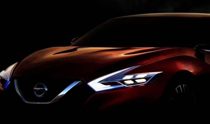 Nissan Sport Sedan Concept set for NAIAS debut