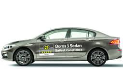 Qoros 3 Sedan - safest car in 2013 by EuroNCAP