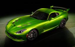 SRT Viper with Stryker Green paint is Hulk's car