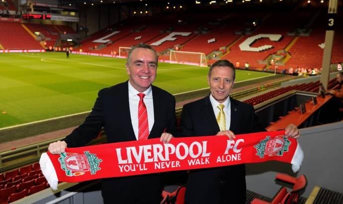 Vauxhall to sponsor Liverpool FC