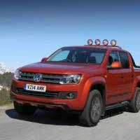 Volkswagen Amarok Canyon available in UK