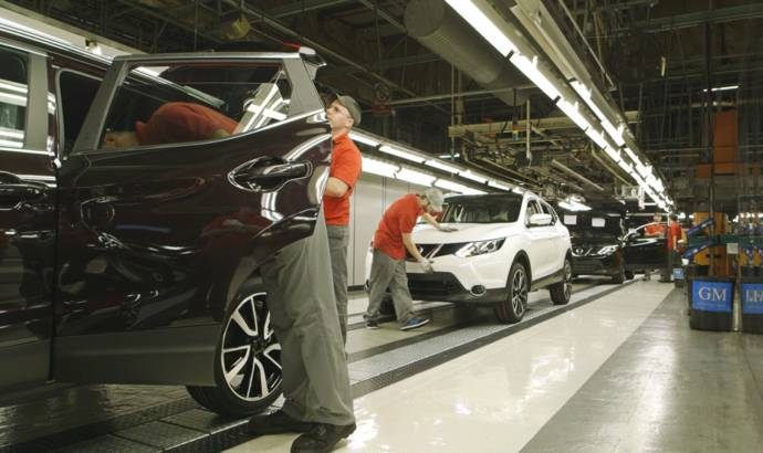 2014 Nissan Qashqai enters production
