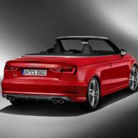 2014 Audi S3 Convertible officially revealed