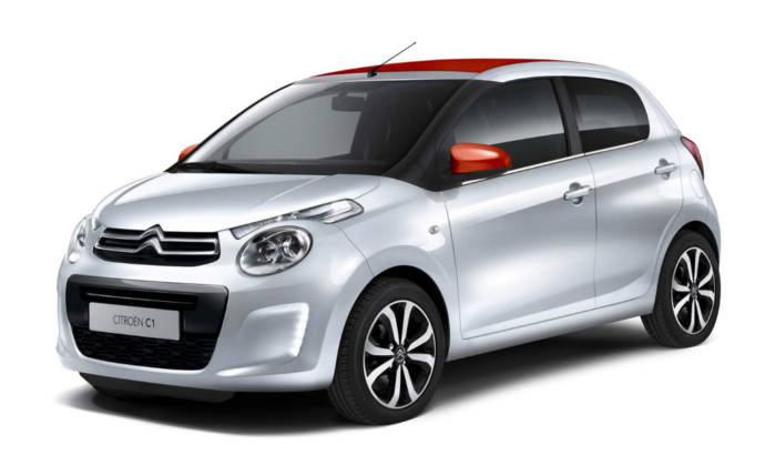 2014 Citroen C1- Official pictures and details