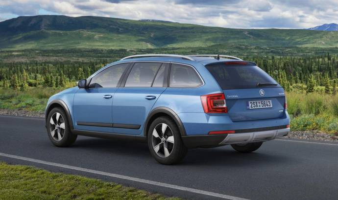 2014 Skoda Octavia Scout - Official pictures and detailes