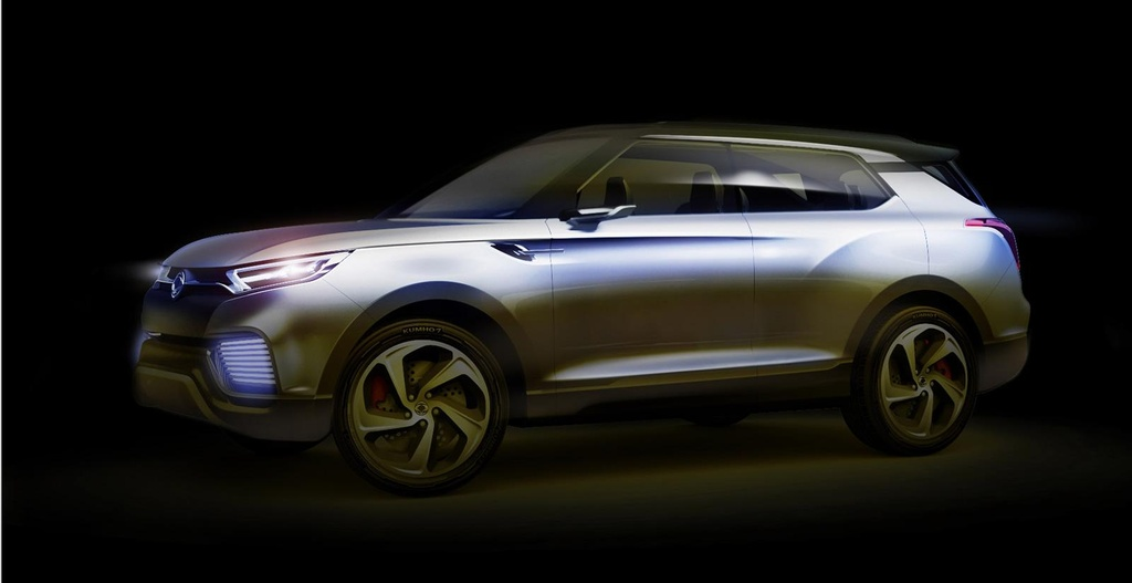2014 SsangYong XLV concept previewed