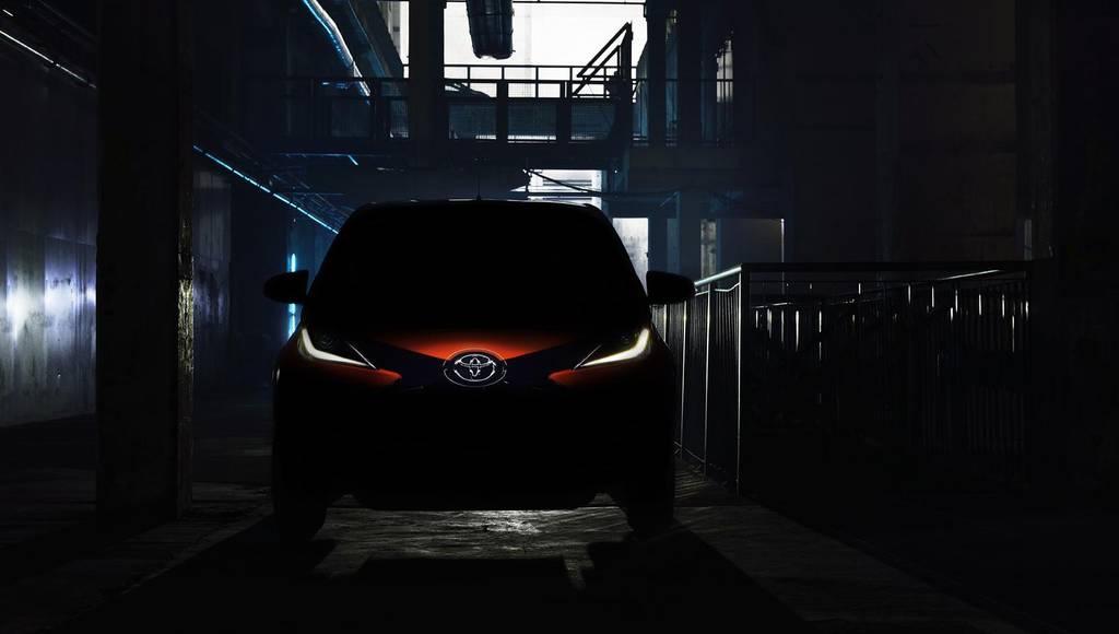 2014 Toyota Aygo teaser
