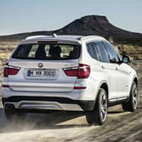 2015 BMW X3 facelift revealed