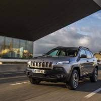 2015 Jeep Cherokee European version