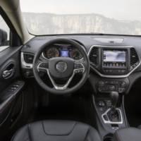 2015 Jeep Cherokee European version