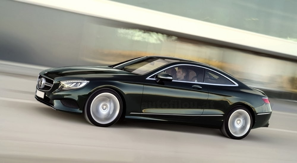 2015 Mercedes-Benz S-Class Coupe - First official picture