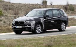 BMW X5 plug-in hybrid prototype unveiled