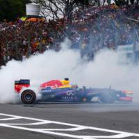 FIA has legalized donuts for F1 winners