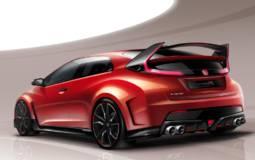 Honda Civic Type R Concept to debut in Geneva