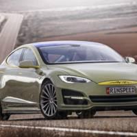 Rinspeed XchangE Concept, based on Tesla Model S
