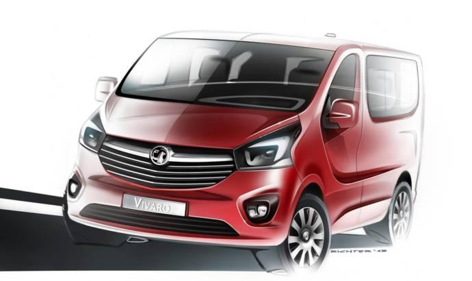 2014 Vauxhall Vivaro first teaser