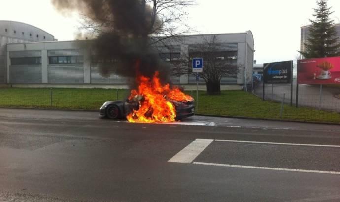 Porsche halts 911 GT3 deliveries due to fire accidents