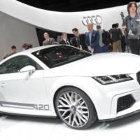 2014 Audi TT Quattro Sport Concept bows in Geneva