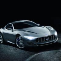 2014 Maserati Alferi Concept bows in Geneva