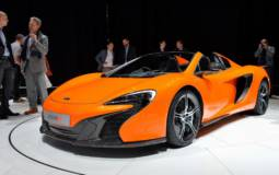 2014 McLaren 650S Spider flex its muscles in Geneva