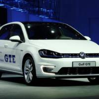 2014 Volkswagen Golf GTE plug-in hybrid unveiled in Geneva