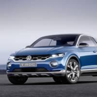 2014 Volkswagen T-ROC Concept bows in Geneva
