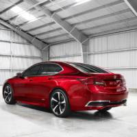 2015 Acura TLX production version