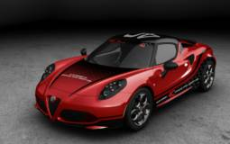 Alfa Romeo 4C will become the 2014 WTCC Safety Car