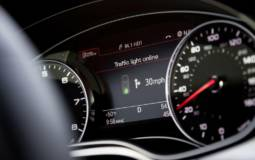 Audi Online traffic light information offers 15 percent fuel savings