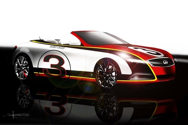 Infiniti Q60 Convertible Bobby Unser Indy 500 - First teaser