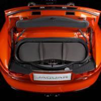 Jaguar F-Type Moynat bespoke luggage