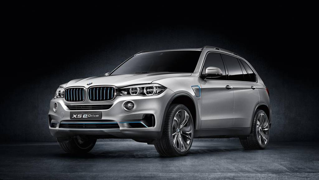 2014 BMW Concept X5 eDrive returns to New York Motor Show