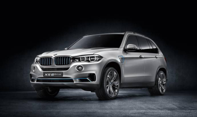 2014 BMW Concept X5 eDrive returns to New York Motor Show