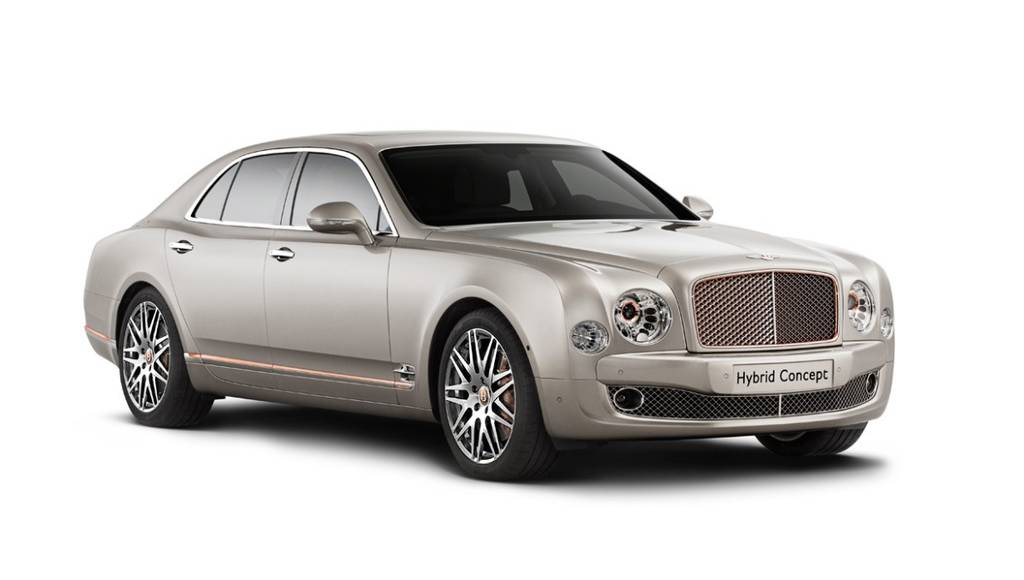 2014 Bentley Hybrid Concept - Official pictures and details