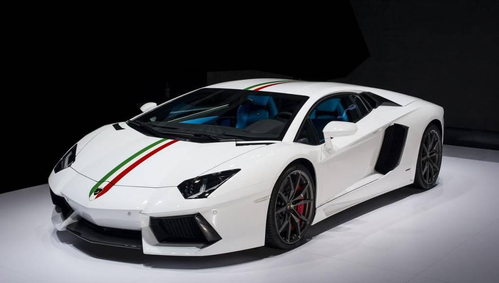 2014 Lamborghini Aventador LP 700-4 Nazionale - Official pictures and details