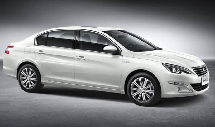 2014 Peugeot 408 Sedan details and photos