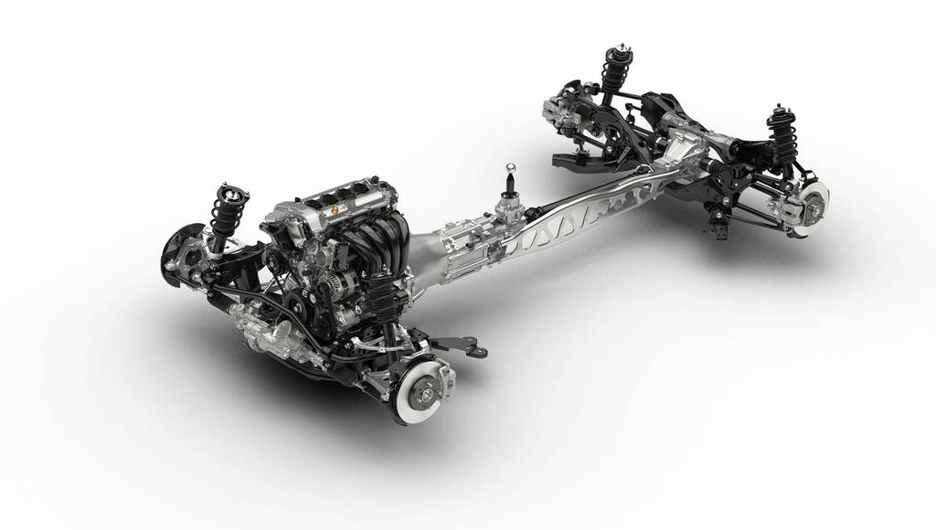 2015 Mazda MX-5 chassis unveiled