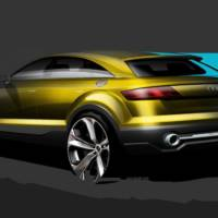 Audi Q4 Concept - First official sketches