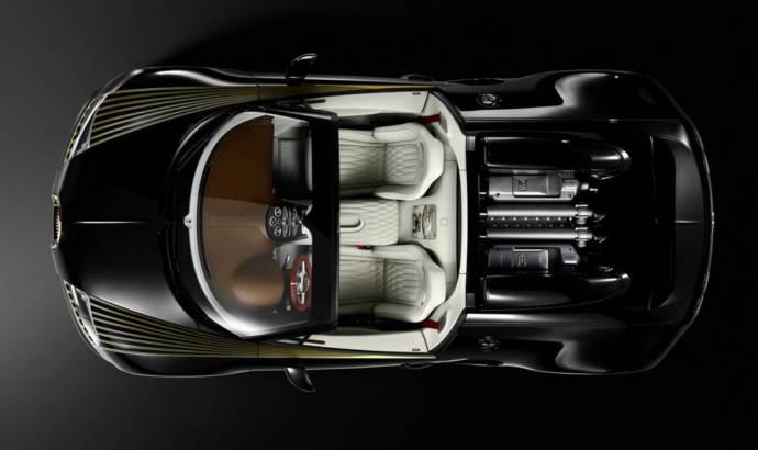 Bugatti Veyron Grand Sport Vitesse Black Bess - Official pictures and details