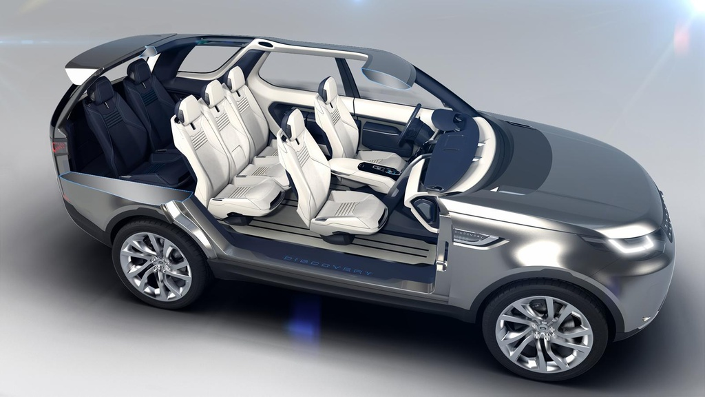 Land Rover Discovery Vision Concept introduced