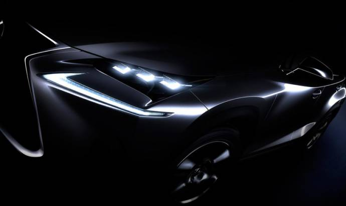 Lexus NX crossover first teaser