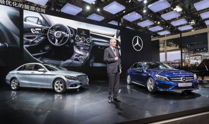 Mercedes C Class long wheelbase version for China