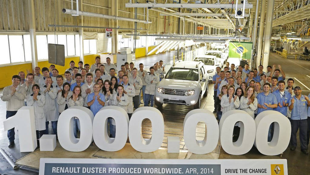 One million Duster produced after just four years