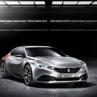 Peugeot Exalt Concept unveiled