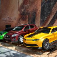 The Autobots are in New York thanks to Chevrolet