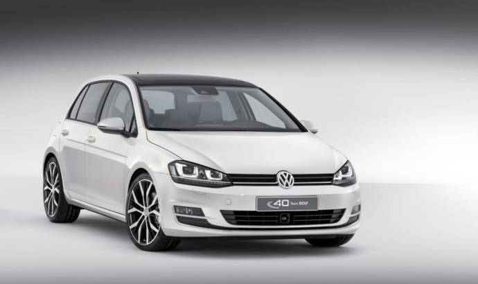 Volkswagen Golf Edition Concept - 40 years of history